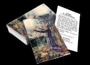 Bildchen mit Gebet zum hl. Bruder Klaus – Weltfriedenspatron