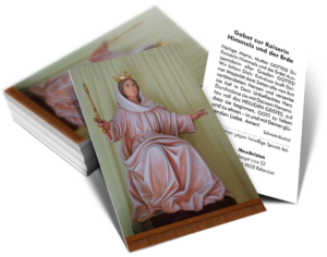 Bildchen mit Gebet zur Kaiserin Maria
