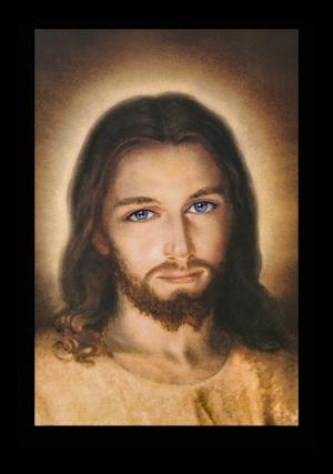 Bamherziger JESUS – Faustinabild – Grösse 3