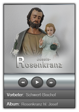 Rosenkranz zum hl. Josef – Download – MP3