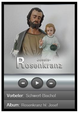 Rosenkranz zum hl. Josef – Download – MP3