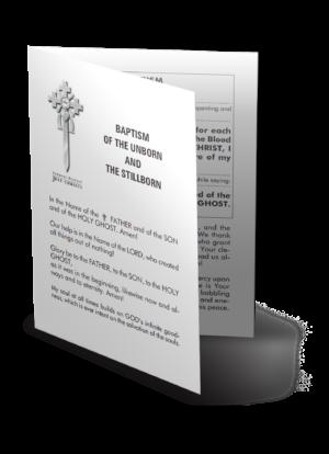 Taufe der Ungeborenen und der Totgeborenen